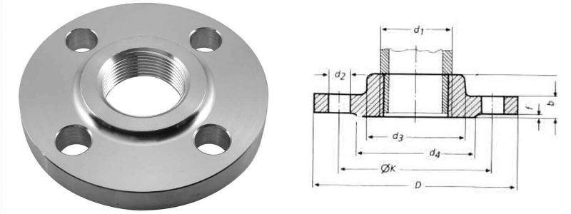 Stainless Steel Threaded Flanges Manufacturer